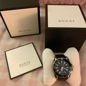 Gucci Dive Watch Men's 40mm
